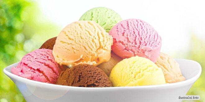800 gramů pravé italské zmrzliny v termoboxu