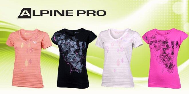 34b3fc6944a Dámská trička Alpine Pro s potiskem