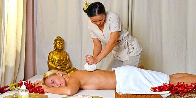 Tradiční thajská masáž pro dokonalé uvolnění