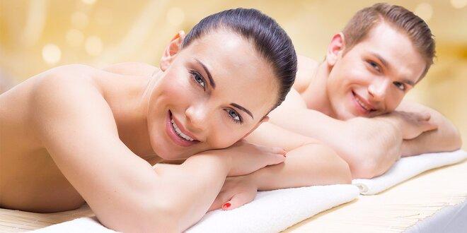 Párová masáž v délce 60 minut
