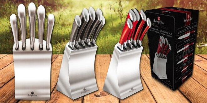 Nože Berlinger Haus z nerezové oceli v designovém bloku