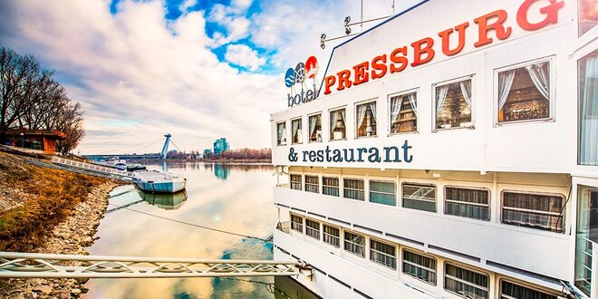 Romantický pobyt v botelu Pressburg na Dunaji