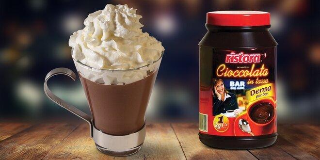 Sypká směs na přípravu nápoje s příchutí čokolády