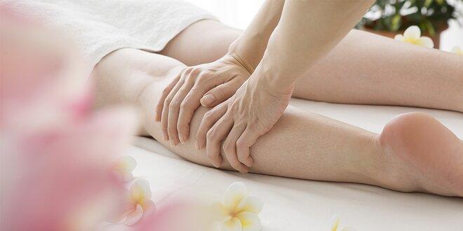 Hodinová ruční lymfatická masáž proti celulitidě