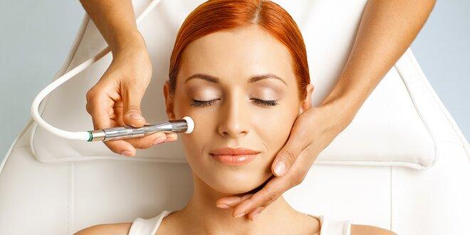 Kosmetické ošetření diamantovou mikrodermabrazí