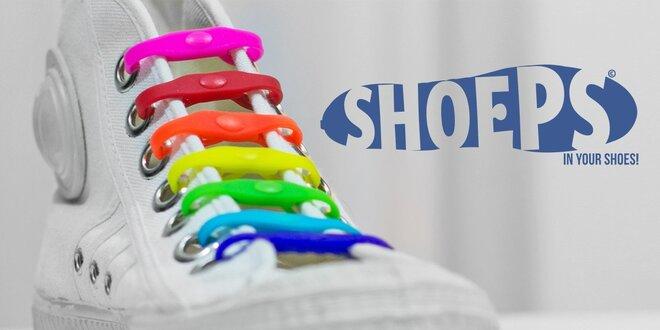 SHOEPS - tkaničky, které se nešněrují