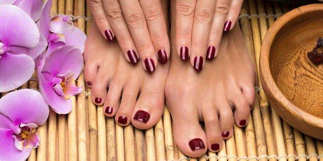Lakování rukou nebo nohou gel-lakem RockLak