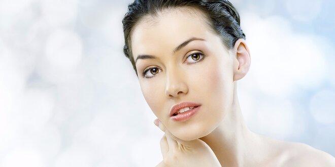 Kosmetické ošetření vč. masáže obličeje
