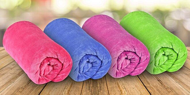 Barevné deky z mikrovlákna vhodné i pro alergiky