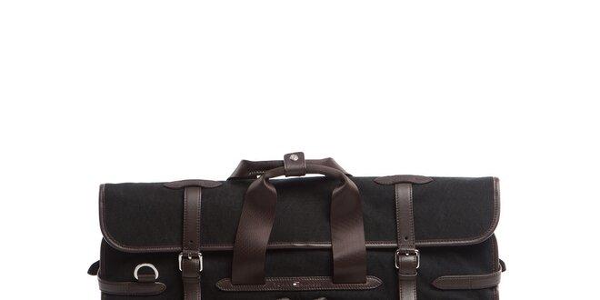 Černo-hnědá kabela na oblek Tommy Hilfiger  dd516025257