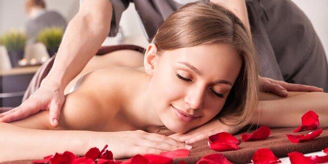 30- nebo 60minutová masáž zad, šíje či rukou