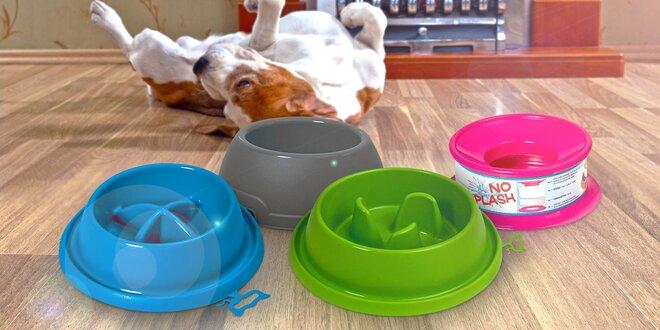 Čas krmení: Protiskluzové misky pro psy