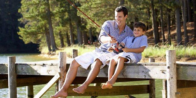 Užijte si celý den při rybaření