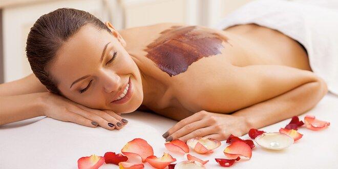 Luxusní čokoládová masáž v délce 60 minut
