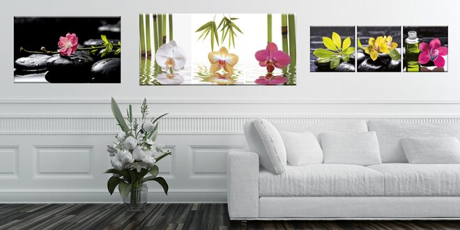 Barevné tištěné obrazy do bytu i kanceláře