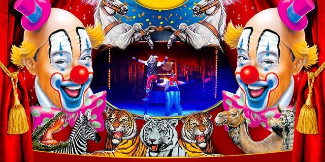 Vstupenka na cirkusovou show Cirkus Sultán