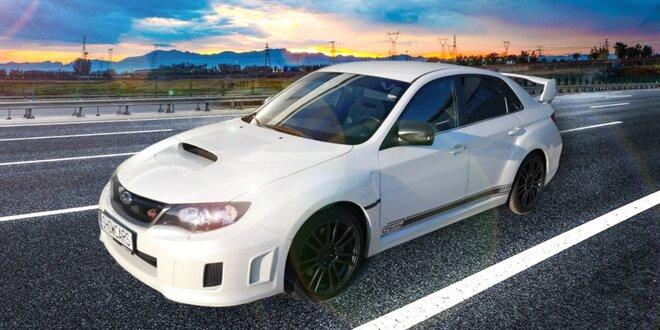 Rallye jízda legendárním Subaru Impreza WRX