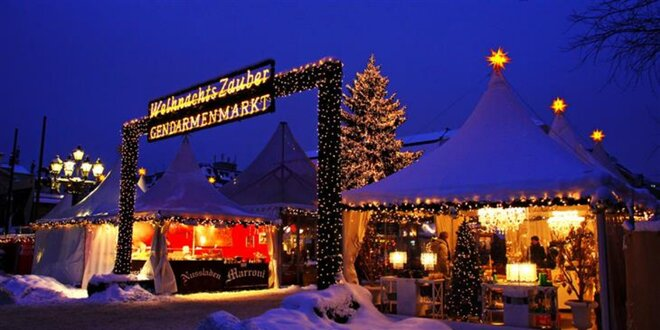 Jednodenní výlet do vánočně laděného Berlína
