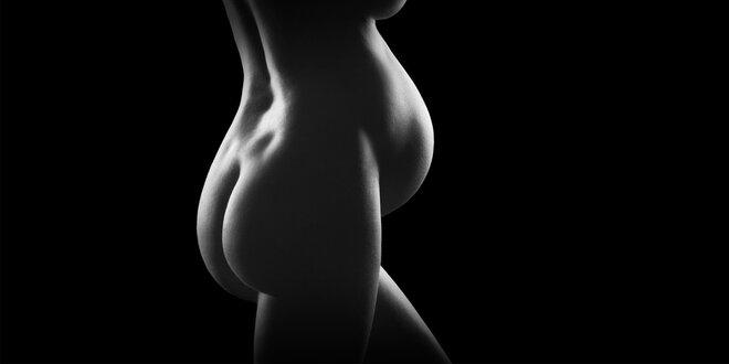 Glamour focení pro těhotné ženy (60 min)
