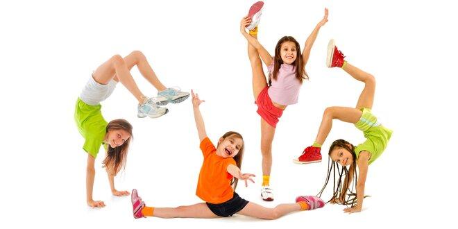 Pololetní kurzy tance a baletu pro děti