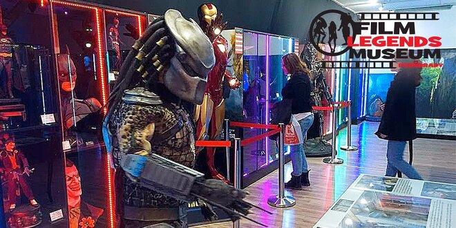 Unikátní výstava Film Legends Museum