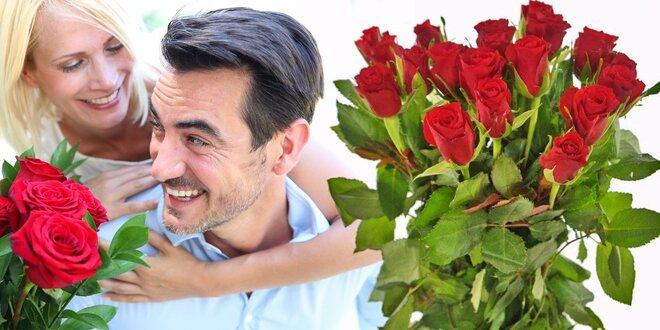 Kytice červených růží - doručení po celé ČR