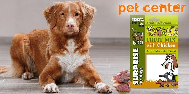 5 balíčků psích pamlsků Huhubamboo