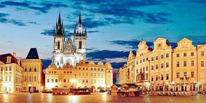 Praha podzimní či zimní: 3denní pobyt se snídaní + dítě do 12 let zdarma