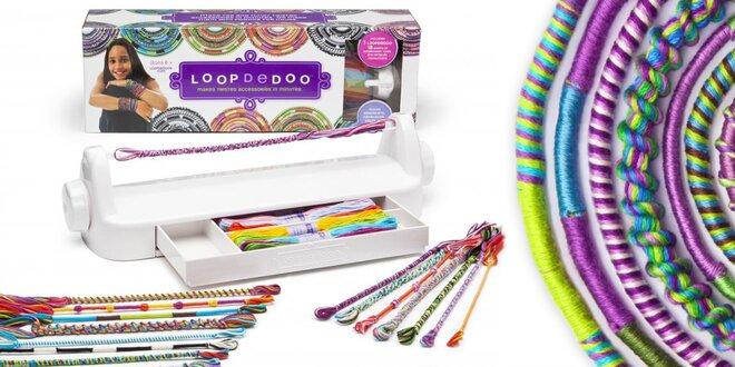 Pletací sada Loopdedoo pro kreativní děti