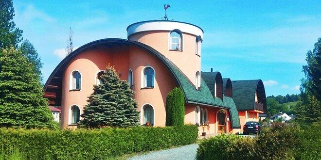 Pobyt u Adršpachu pro dva s polopenzí a s možností využití sauny