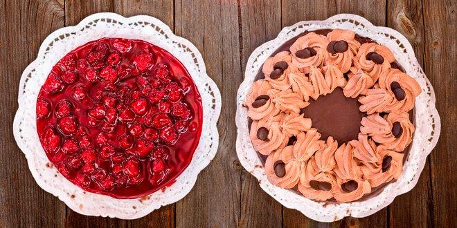 Slavnostní dorty z pravé mléčné šlehačky
