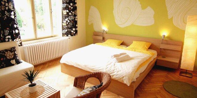 Čtyři dny v moderním apartmánu v Třeboni