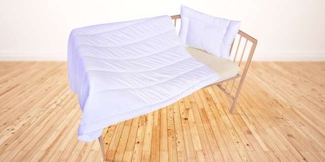 Peřinka a polštář pro sladký spánek dětí