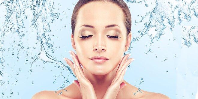 Kosmetické ošetření pro zářivou a čistou pleť