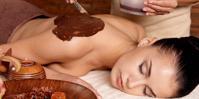 120 minut čokoládového hýčkání včetně zábalu
