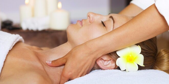 60minutová exotická havajská masáž Lomi Lomi