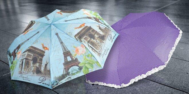 Skládací deštníky do podzimních lijáků