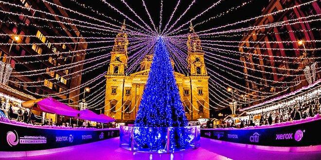 Výlet do adventní Budapešti z Prahy i Brna