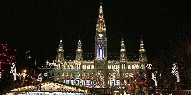Vychutnejte si adventní atmosféru ve Vídni