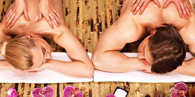 Rituál z Havaje: párová masáž Lomi-Lomi