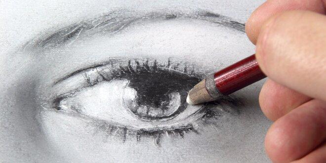 Kreativní kurz portrétování podle živého modelu