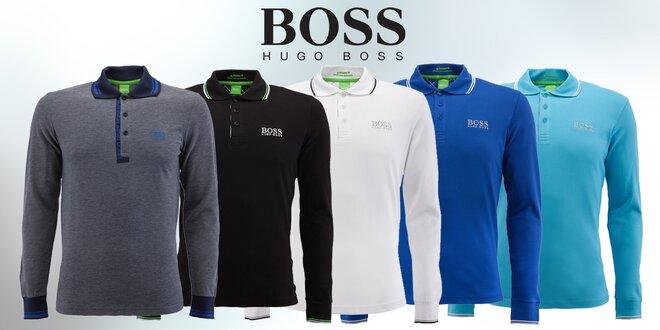 Pánské bavlněné polokošile Hugo Boss