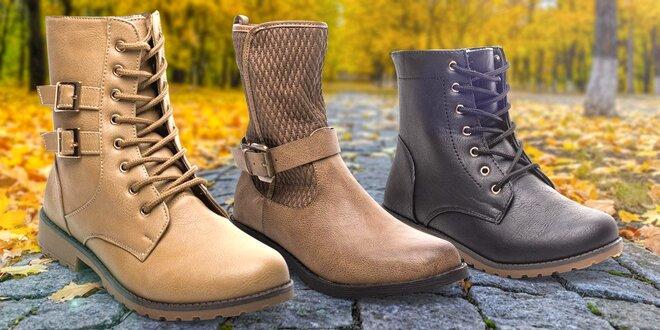 Stylové boty, které podzim ani zima nezastaví