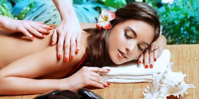 Celotělová aroma olejová masáž