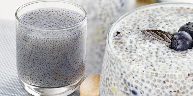 Balení chia semínek pro zdraví a pohodu celé rodiny
