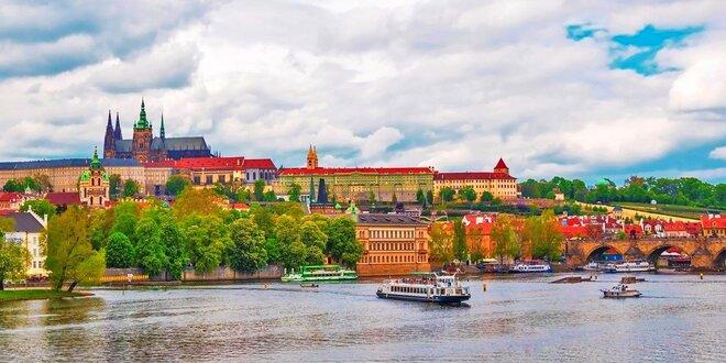 Romantika v Praze pro dva se snídaní