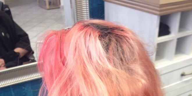 Vlasová kůra Ecoplex při barvení