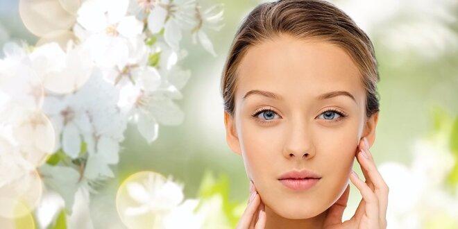 Ošetření pleti vč. úpravy obočí s masáží obličeje
