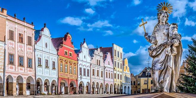 Prodloužený sváteční víkend v Telči: Romantický pobyt s bohatou polopenzí