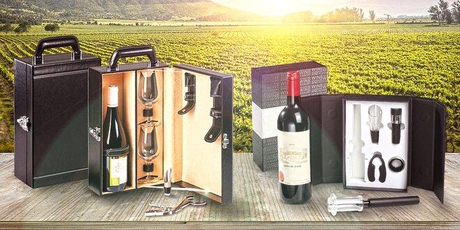 Sommelierské sady pro potěchu vášnivých vinařů
